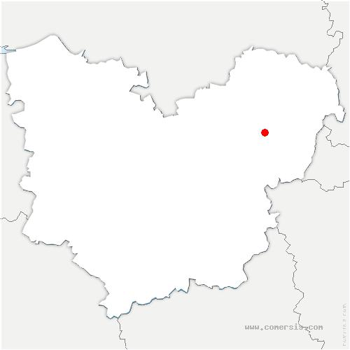 carte de localisation de Hennezis