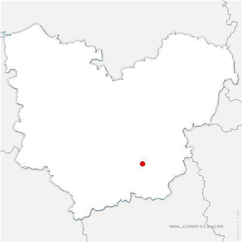 carte de localisation de Jumelles