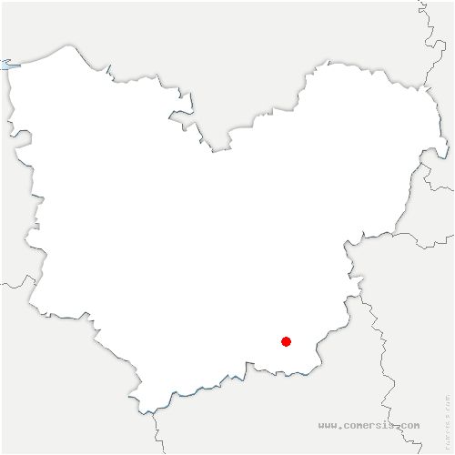 carte de localisation de Lignerolles