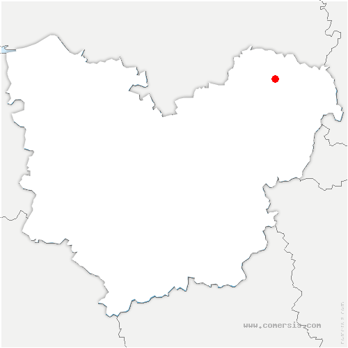 carte de localisation de Lisors