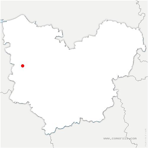 carte de localisation de Malouy