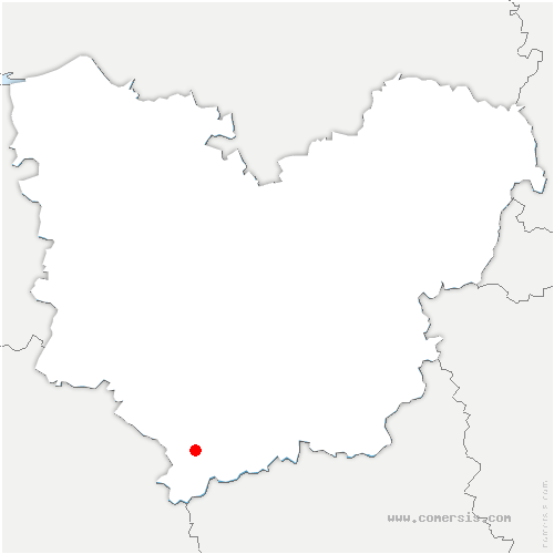carte de localisation de Mandres