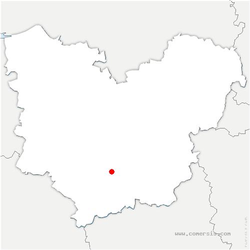 carte de localisation de Marbois