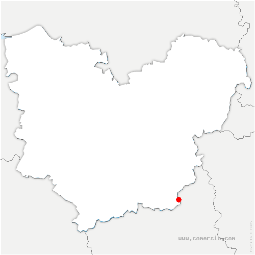 carte de localisation de Marcilly-sur-Eure