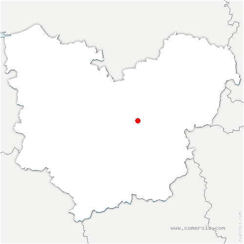 carte de localisation de Normanville