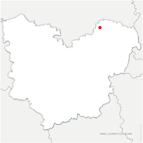 carte de localisation de Perriers-sur-Andelle