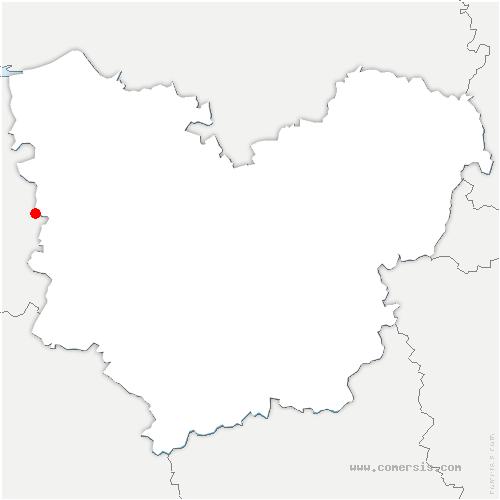 carte de localisation de Piencourt