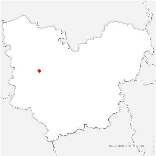 carte de localisation de Plasnes