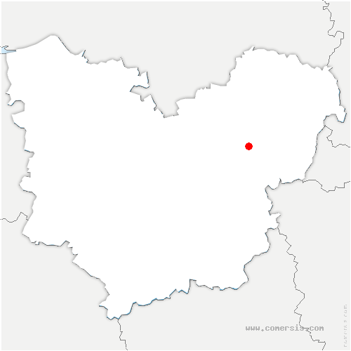 carte de localisation de Port-Mort