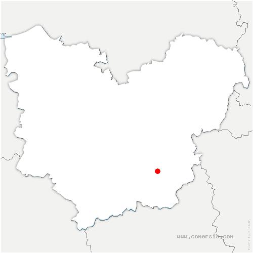 carte de localisation de Saint-André-de-l'Eure