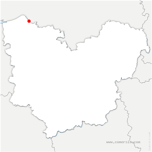 carte de localisation de Saint-Aubin-sur-Quillebeuf