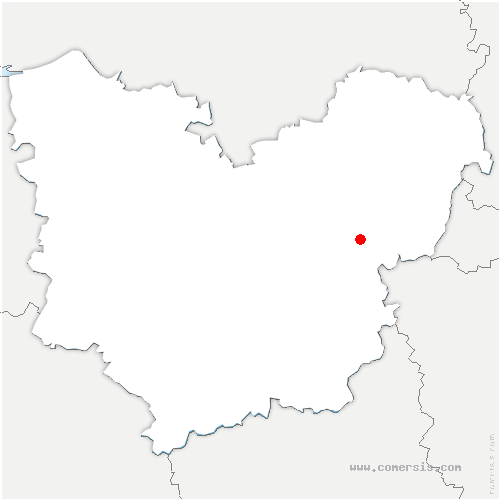 carte de localisation de Saint-Étienne-sous-Bailleul