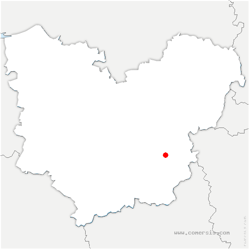 carte de localisation de Saint-Germain-de-Fresney