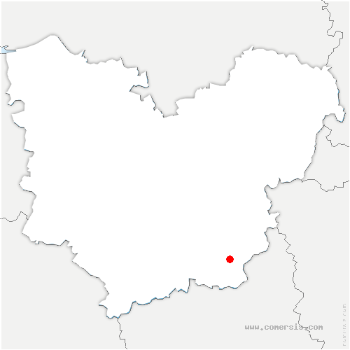 carte de localisation de Saint-Laurent-des-Bois
