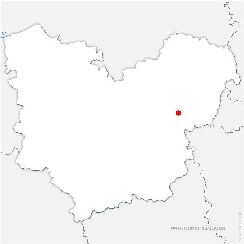 carte de localisation de Saint-Pierre-de-Bailleul