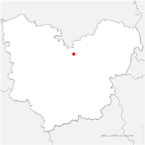 carte de localisation de Surtauville