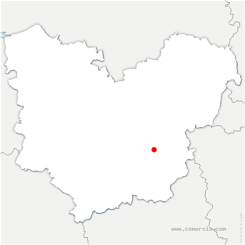 carte de localisation de Val-David