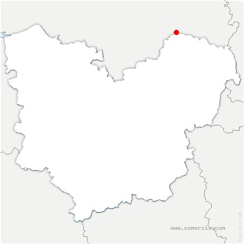 carte de localisation de Vascœuil