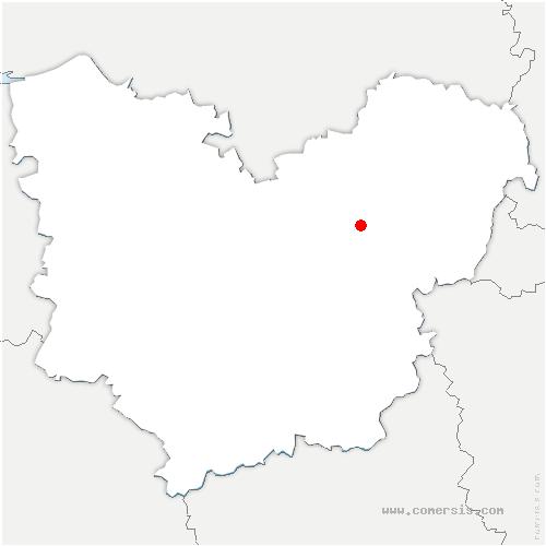 carte de localisation de Villers-sur-le-Roule