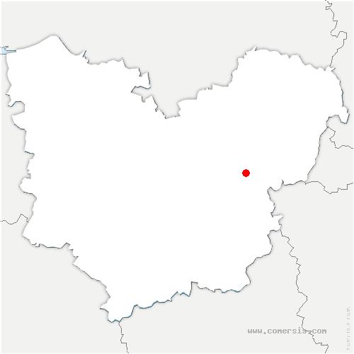 carte de localisation de Villez-sous-Bailleul