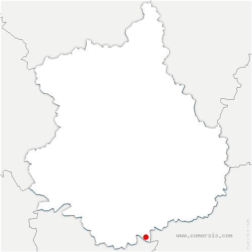 carte de localisation de Allainville