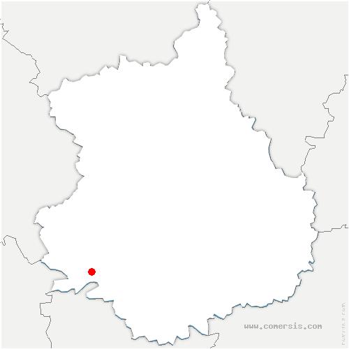 carte de localisation de Chapelle-Royale