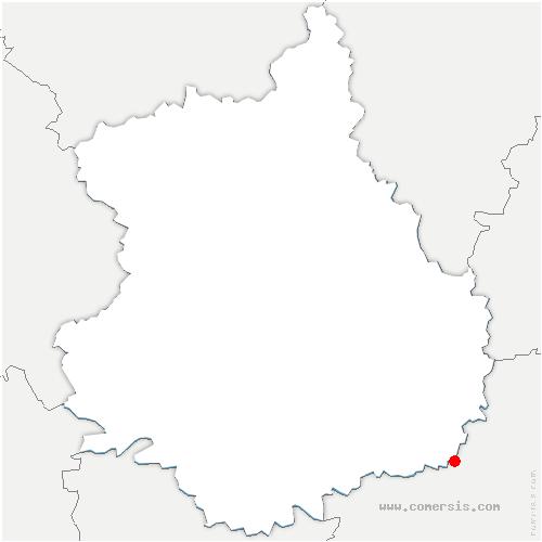 carte de localisation de Dambron