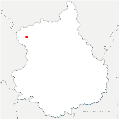 carte de localisation de Lamblore