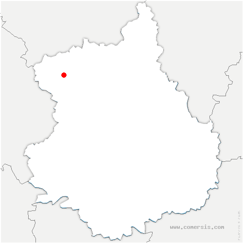 carte de localisation de Mancelière