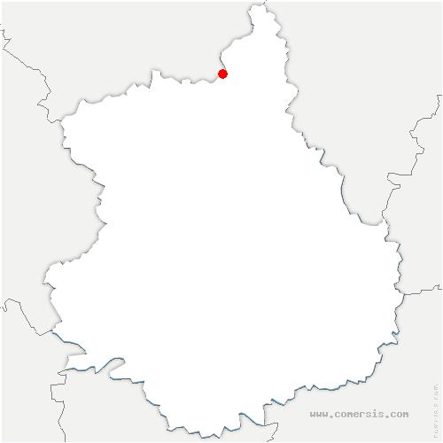 carte de localisation de Montreuil