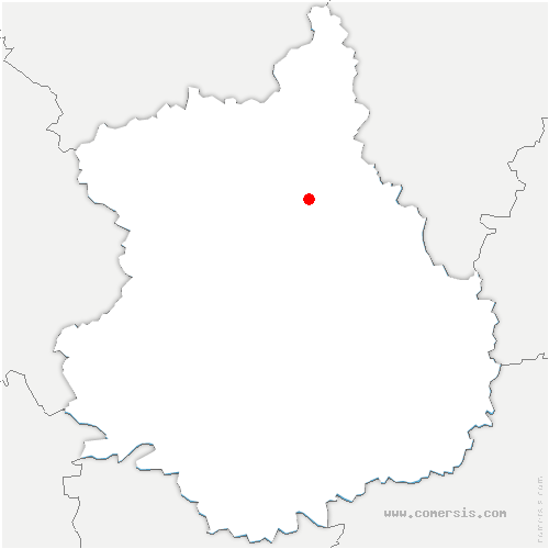 carte de localisation de Néron