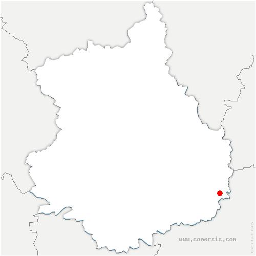 carte de localisation de Poinville