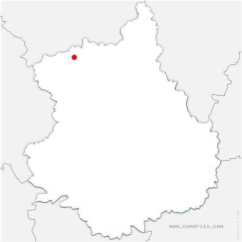 carte de localisation de Revercourt