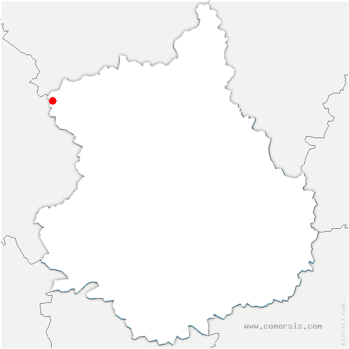 carte de localisation de Rohaire