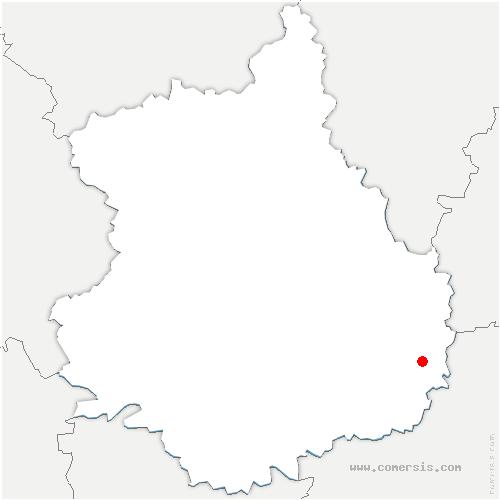 carte de localisation de Trancrainville