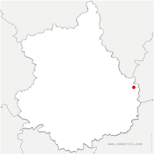 carte de localisation de Vierville