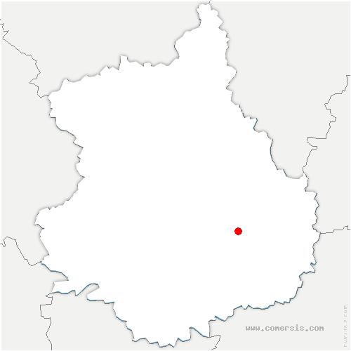 carte de localisation de Villages-Vovéens