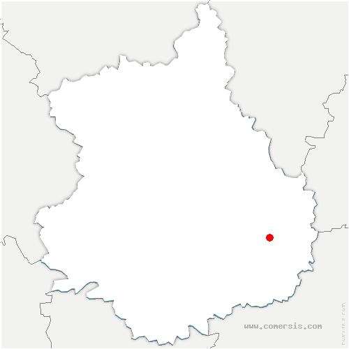 carte de localisation de Ymonville