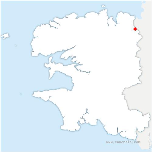 carte de localisation de Plouigneau