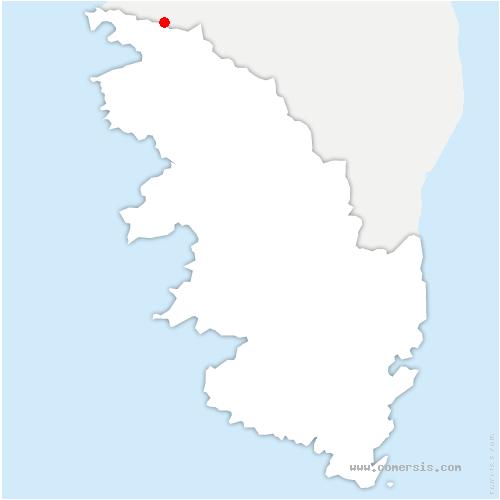 Carte Corse Serriera.Serriera 20147 Corse Du Sud