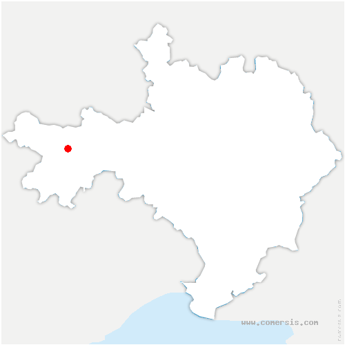 carte de localisation de Bréau-Mars