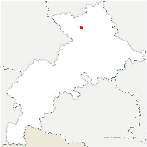 carte de localisation de Aussonne
