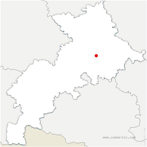 carte de localisation de Espanès
