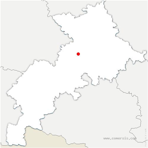 carte de localisation de Lamasquère