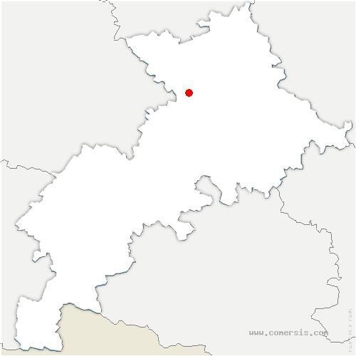 carte de localisation de Léguevin