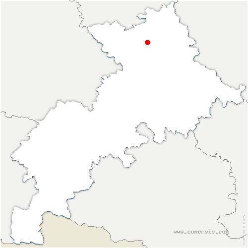 carte de localisation de Lespinasse