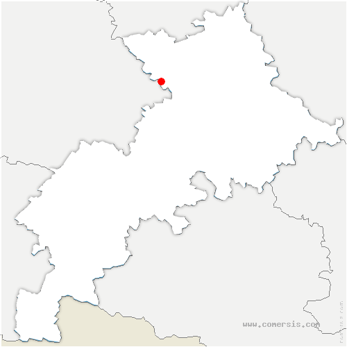 carte de localisation de Mérenvielle
