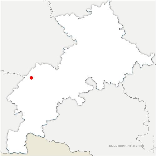 carte de localisation de Péguilhan