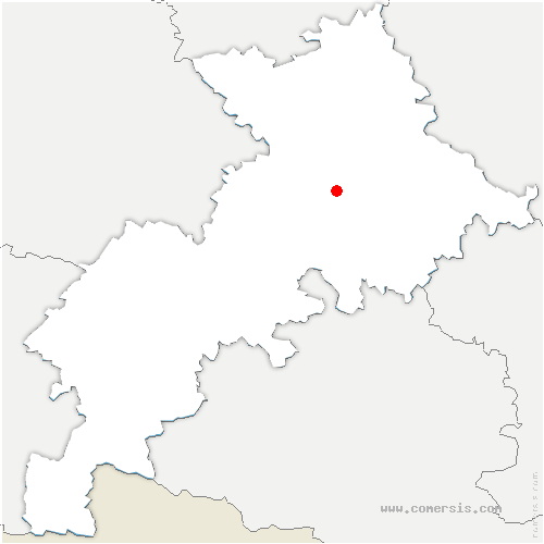 carte de localisation de Pins-Justaret