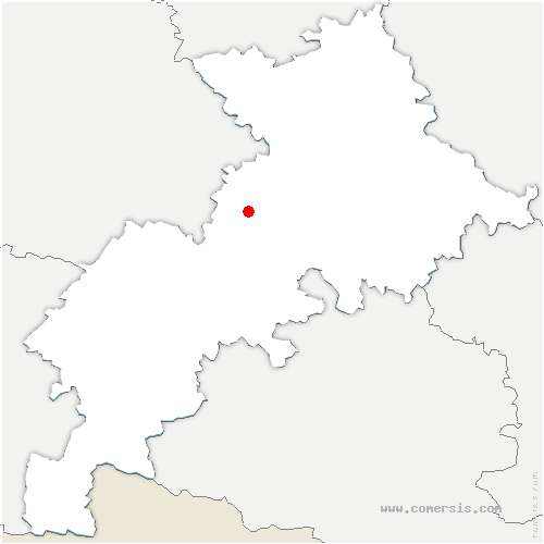 carte de localisation de Poucharramet